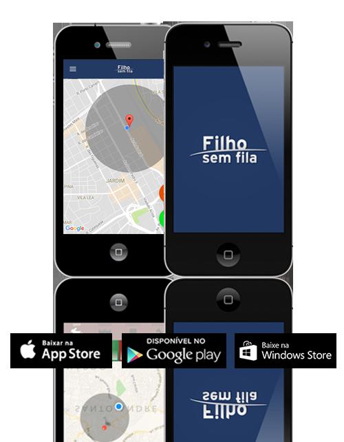 Filho sem Fila é um app para que oferece segurança, agilidade e comunicação com facilidade e confiabilidade, para escolas, pais e alunos.                 Disponível nas plataformas iOS e Android